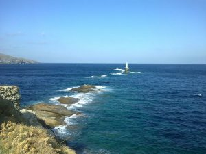 Tourlitis Lighthouse, Andros, Greece