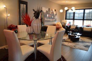 Illuminate with lighting and room-brightening paint