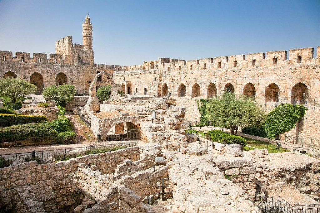 Jerusalem tourist spot