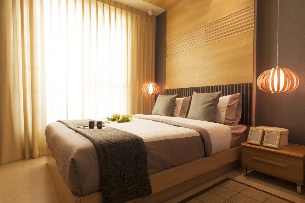 clean hotel bedroom