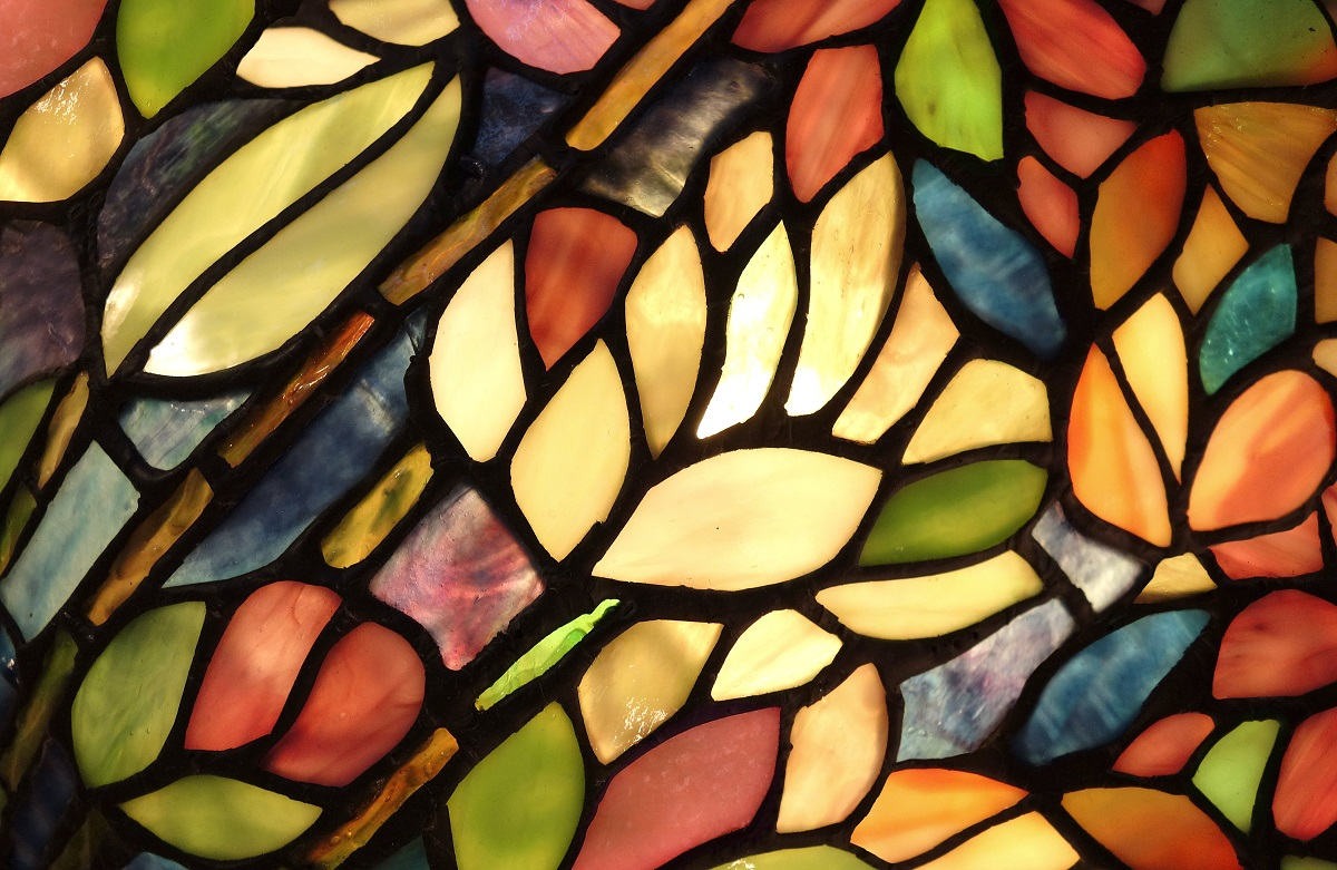 colorful stained glass design