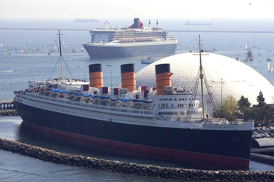 R.M.S. Queen Mary, Long Beach