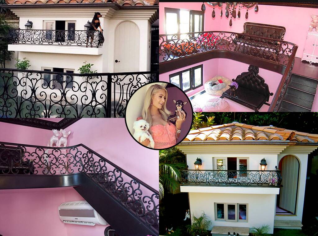 paris hiltons dog mansion