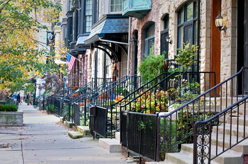 peaceful neighborhood