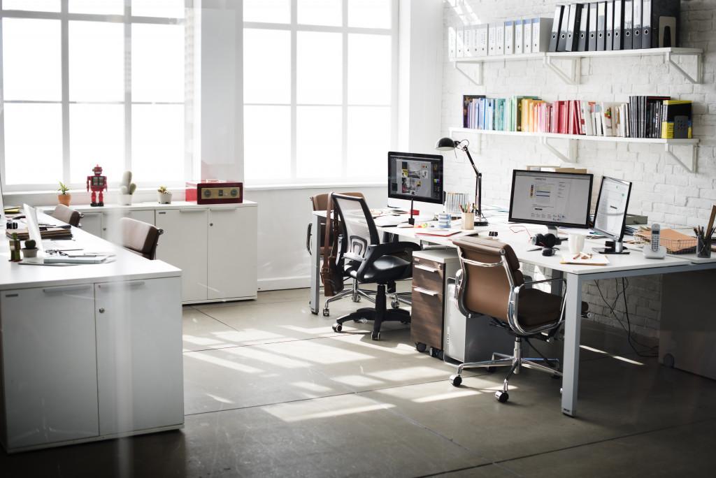tidy office